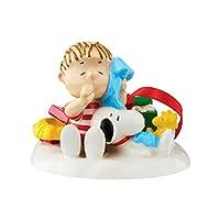 Department 56PeanutsクリスマスMorning Nap Figurine