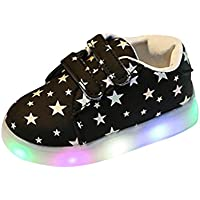 Girls Sandals Children Kids LED Light Luminous Casual Sandals Surface Waterproof Shoes Outdoor Shoes