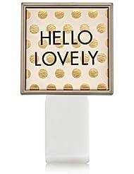 【Bath&Body Works/バス&ボディワークス】 ルームフレグランス プラグインスターター (本体のみ) ハローラブリー Wallflowers Fragrance Plug Hello Lovely [並行輸入品]
