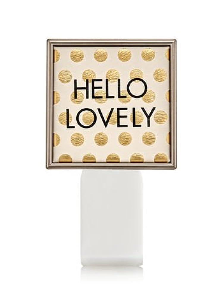 穀物甘くする限られた【Bath&Body Works/バス&ボディワークス】 ルームフレグランス プラグインスターター (本体のみ) ハローラブリー Wallflowers Fragrance Plug Hello Lovely [並行輸入品]