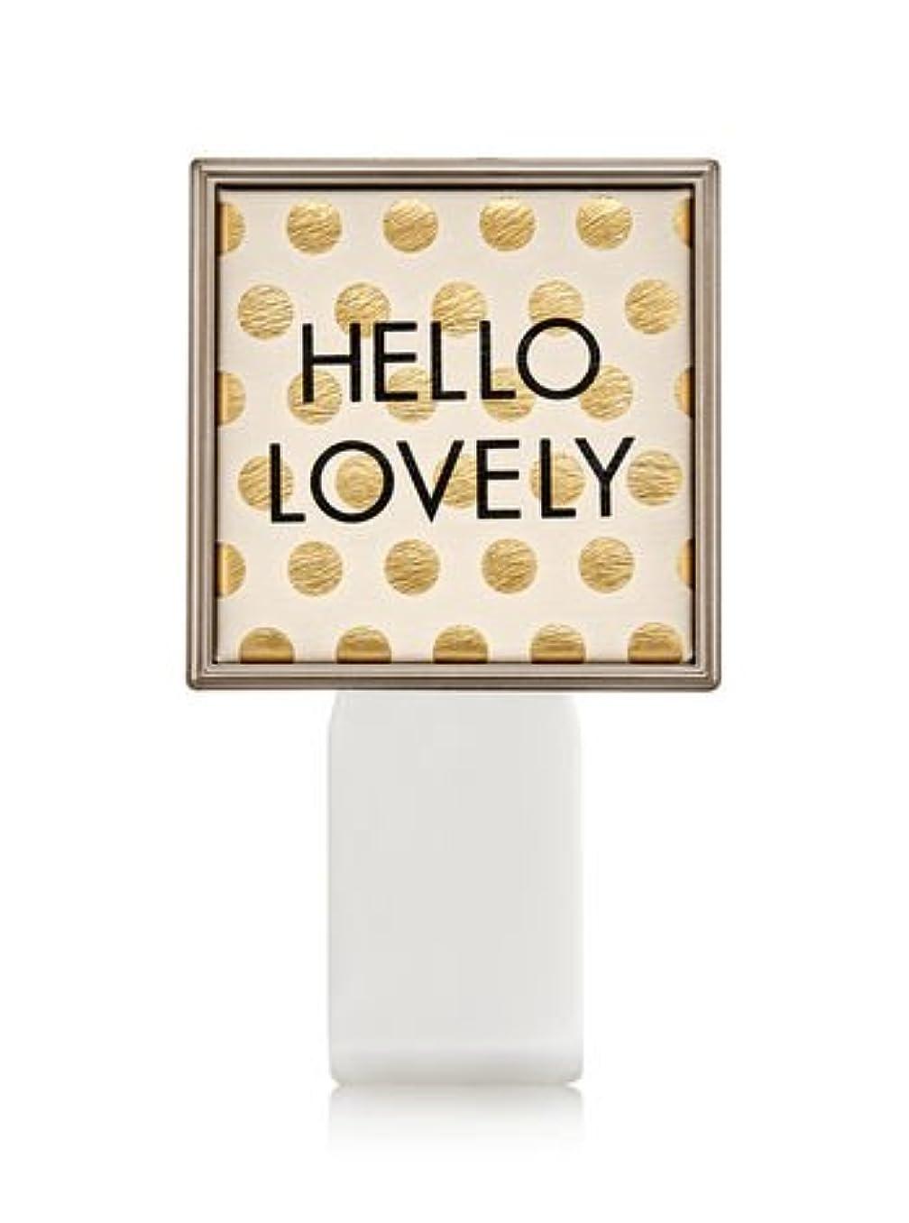 適応するスリムランプ【Bath&Body Works/バス&ボディワークス】 ルームフレグランス プラグインスターター (本体のみ) ハローラブリー Wallflowers Fragrance Plug Hello Lovely [並行輸入品]