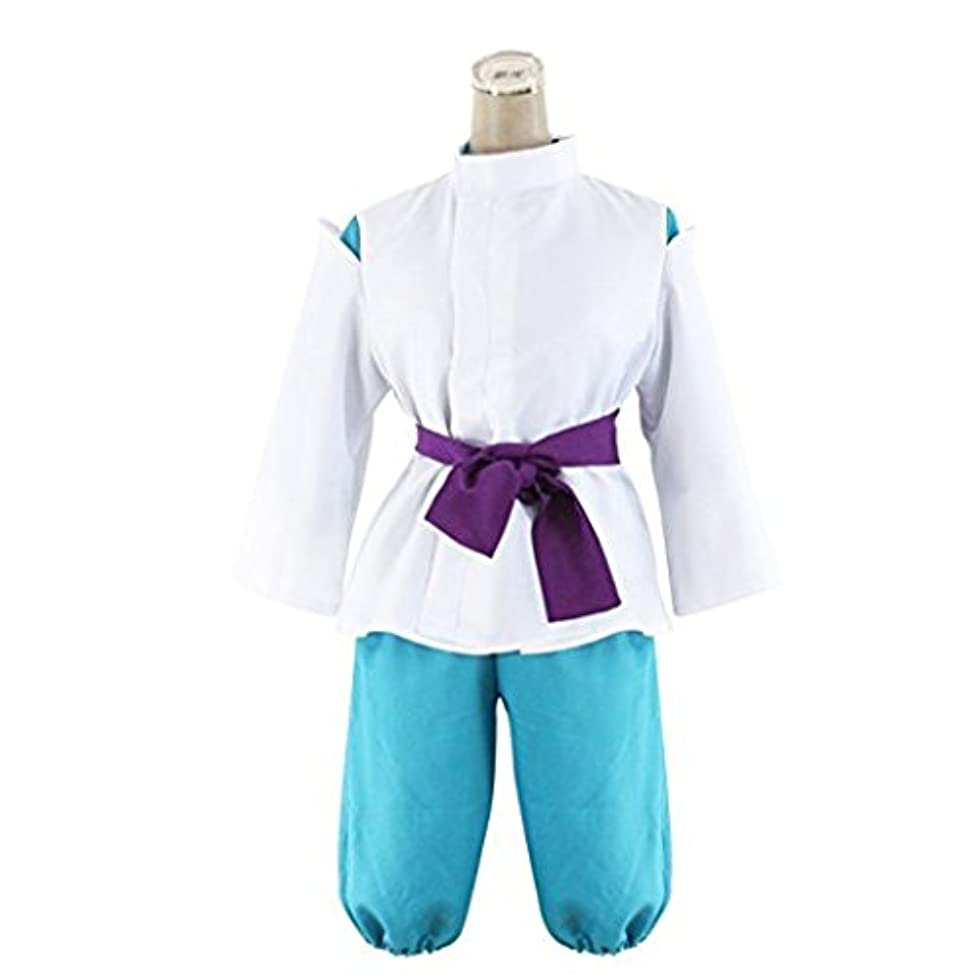 低下韓国調和CWU 千と千尋の神隠し ハク 琥珀川 風 衣装セット (ブルー衣装+白衣装) コスプレ コスチューム はく カオナシ 男女共用