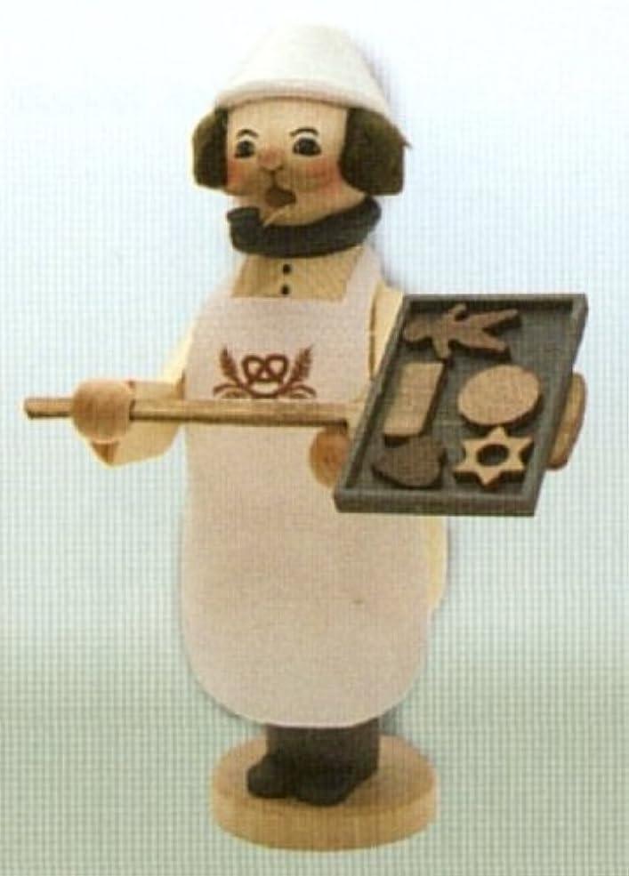 博物館ワークショップフェンスクリスマスクッキーベイカーGerman Incense Smokerドイツ製新しいBurner
