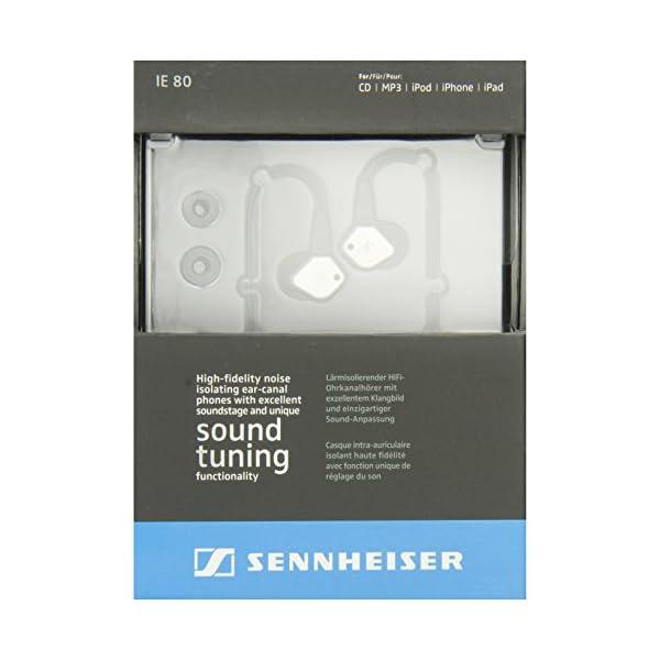 ゼンハイザー カナル型イヤホン 耳かけ式/低音...の紹介画像8