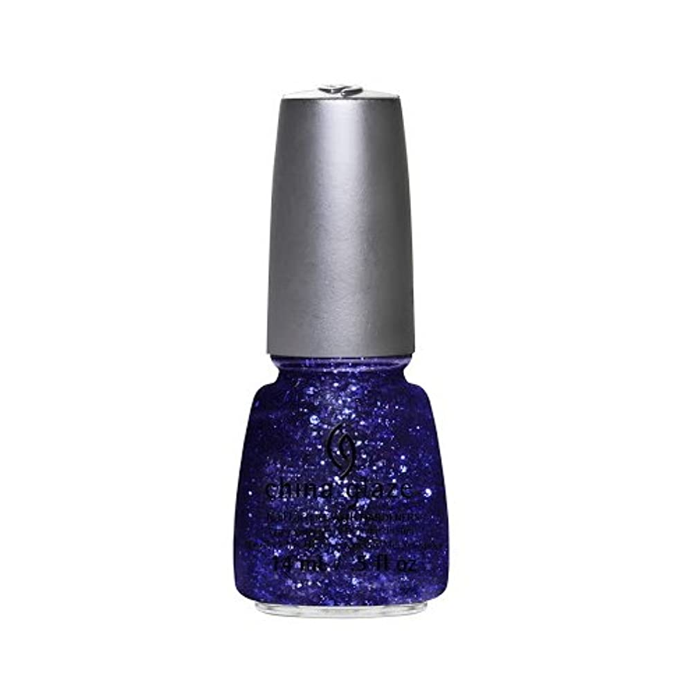 ラウンジポテト姿勢(6 Pack) CHINA GLAZE Nail Lacquer - Glitz Bitz ?n Pieces Collection - Bling It On (並行輸入品)
