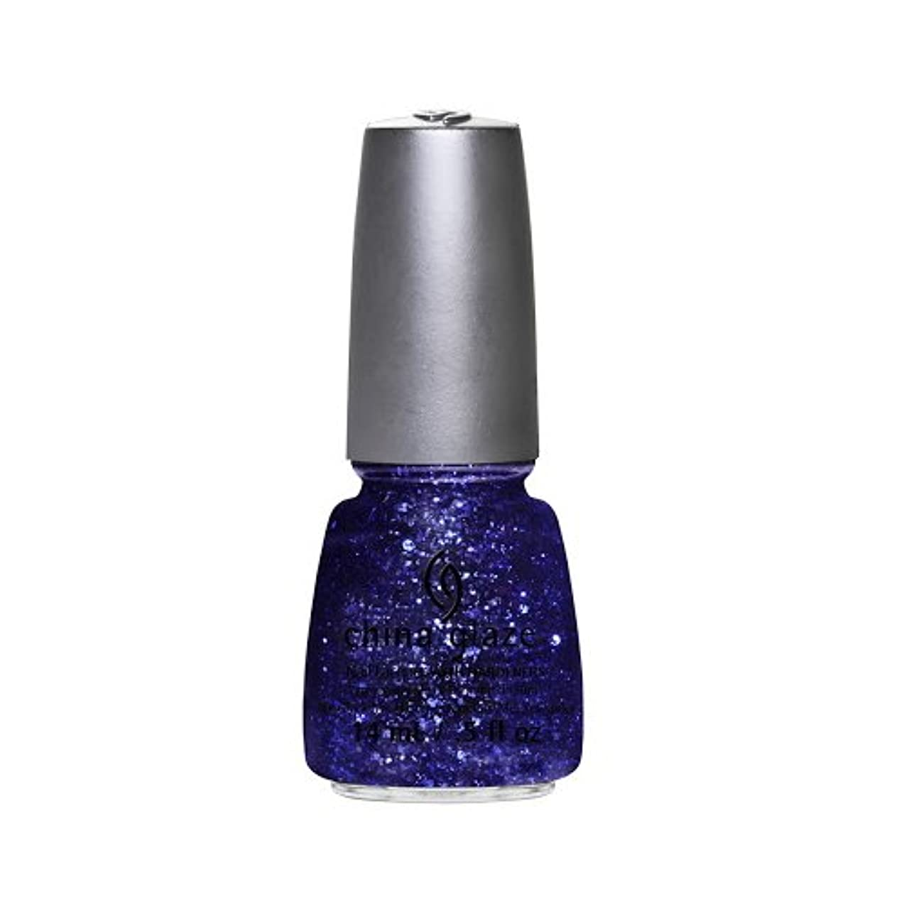 理解天使上に築きます(6 Pack) CHINA GLAZE Nail Lacquer - Glitz Bitz ?n Pieces Collection - Bling It On (並行輸入品)