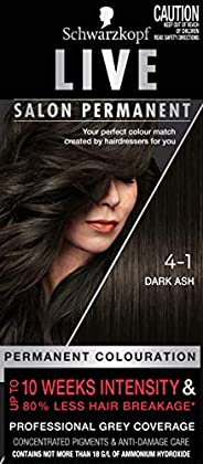 Schwarzkopf LIVE Salon Permanent Hair Colour 4-1 Dark Ash