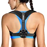 [2019]Tomight Back Posture Corrector for Women & Men, Adjustable Back Brace to comfortably Improve Posture-Clavicle Support for Slouching & Hunching-Upper Back/Relief Neck Shoulder Pain