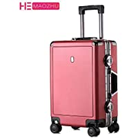 Carry-ons 2019 New Simple 16 Inch Canvas Universal Wheel Trolley Case 20 Inch Boarding Password Box Outdoor Durable 24 Inch Suitcase Luggage & Travel Bags