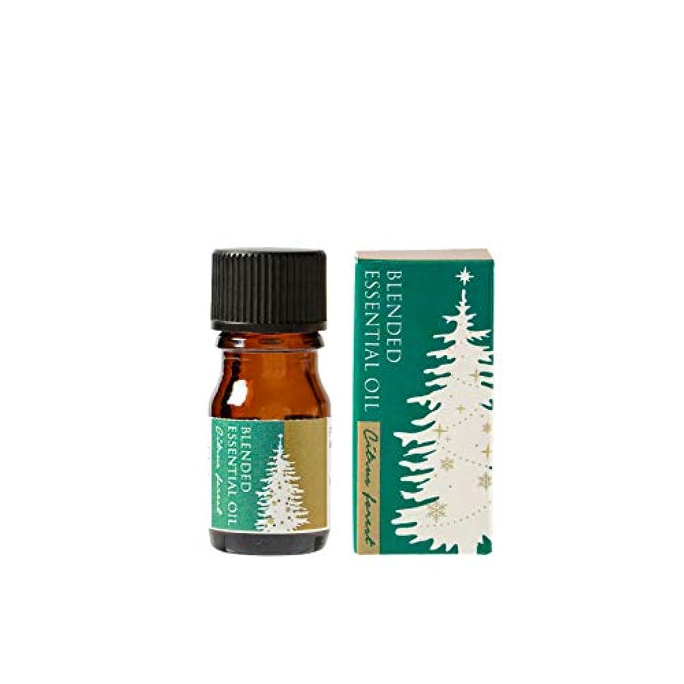 ダンスうぬぼれ落とし穴生活の木 ブレンド精油 シトラスフォレスト 5ml