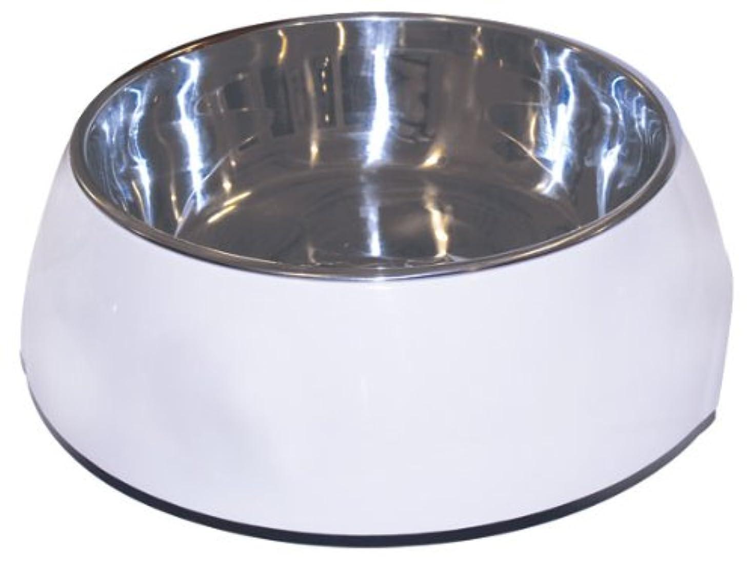 家主追い越すゾーンDogit 2-in-1 Durable Bowl, White, Large by Dogit