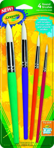 Crayola Big Paintbrush St Round 4Pk