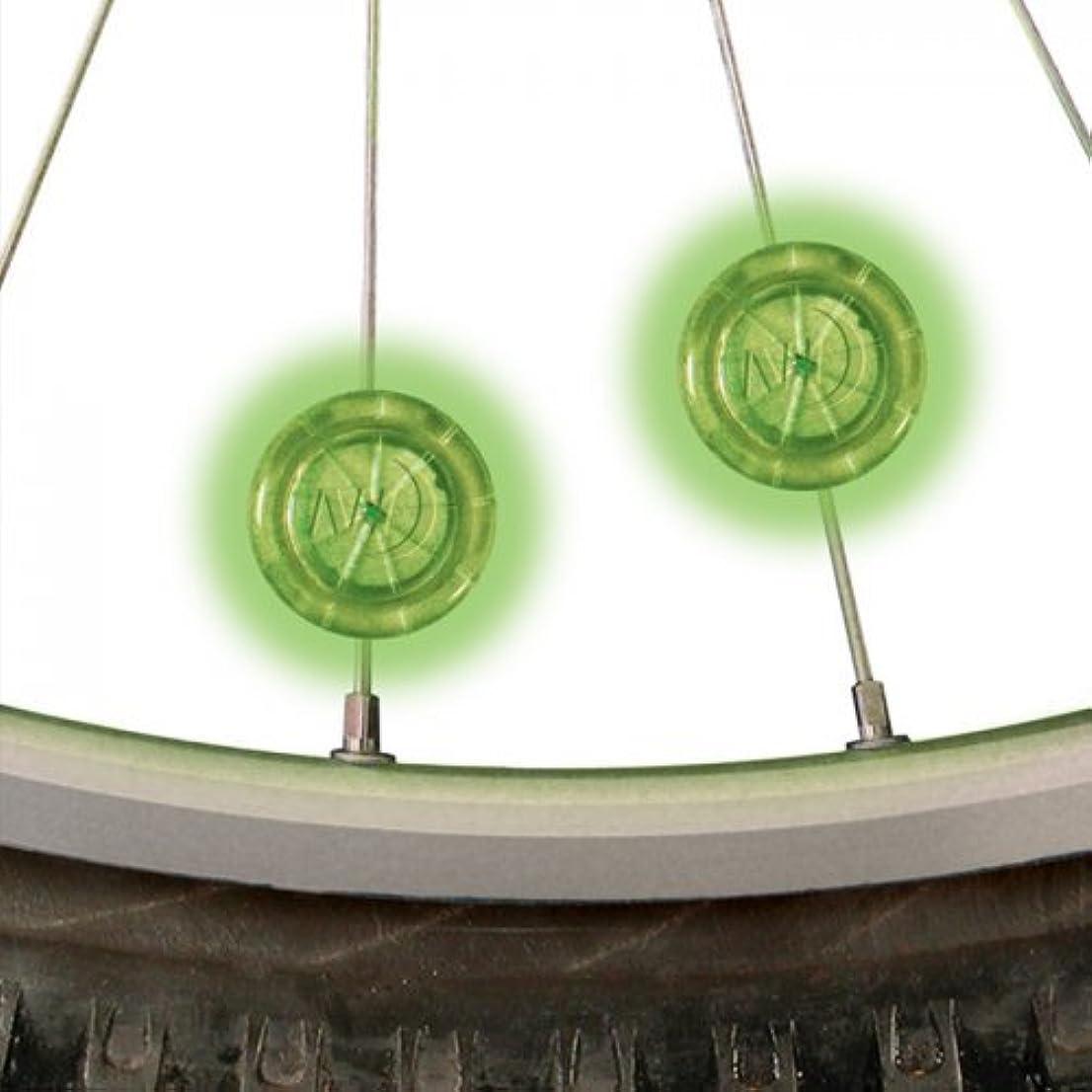 ロマンスを必要としています同等のNITE-IZE(ナイトアイズ) シーム ミニスポークライト 2P グリーン