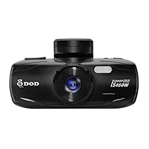 DOD LS460W ドライブレコーダー 日本語メニュー対応/ FULL HD 1080P、常時録画、夜間高画質WDR、GPS+G-Sensor、日本語説明書付