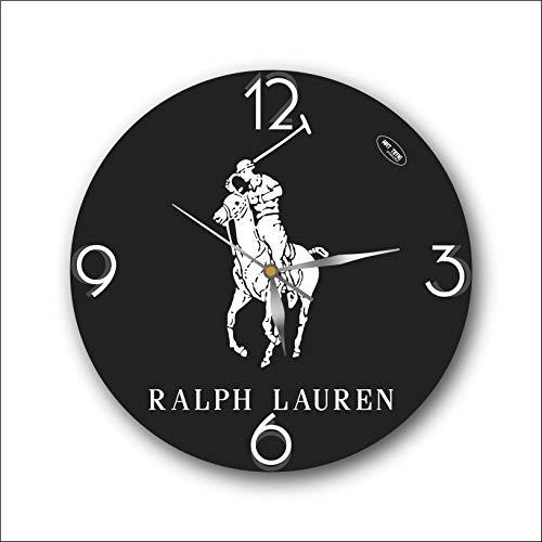 Ralph Lauren 11'' 壁時計(ラルフローレン)あなたの友人のための最高の贈り物。あなたの家のためのオリジナ...
