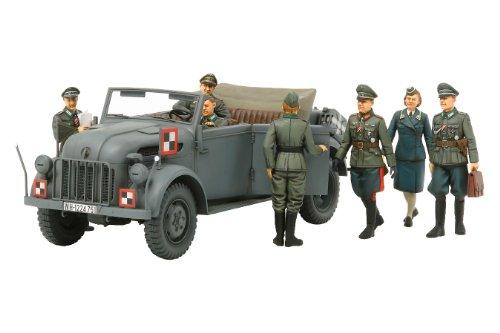 スケール限定シリーズ 1/35 ドイツ 大型指揮官車 コマンドワーゲン 司令部スタッフセット 25149