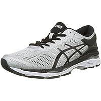 ASICS Men's GEL Kayano 24 Shoe Silver/Black/Midgrey