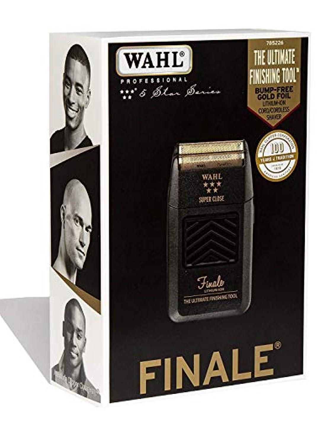トリクル正確さ球状Wahl Professional 5 Star Series Finale Finishing Tool #8164 - Great for Professional Stylists and Barbers - Super Close - Black (並行輸入品)