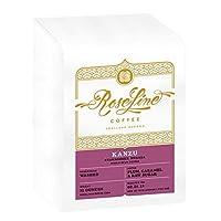 "Roseline Coffee""Kanzu - Rwanda"" Medium Roasted Whole Bean Coffee - 12 Ounce Bag"