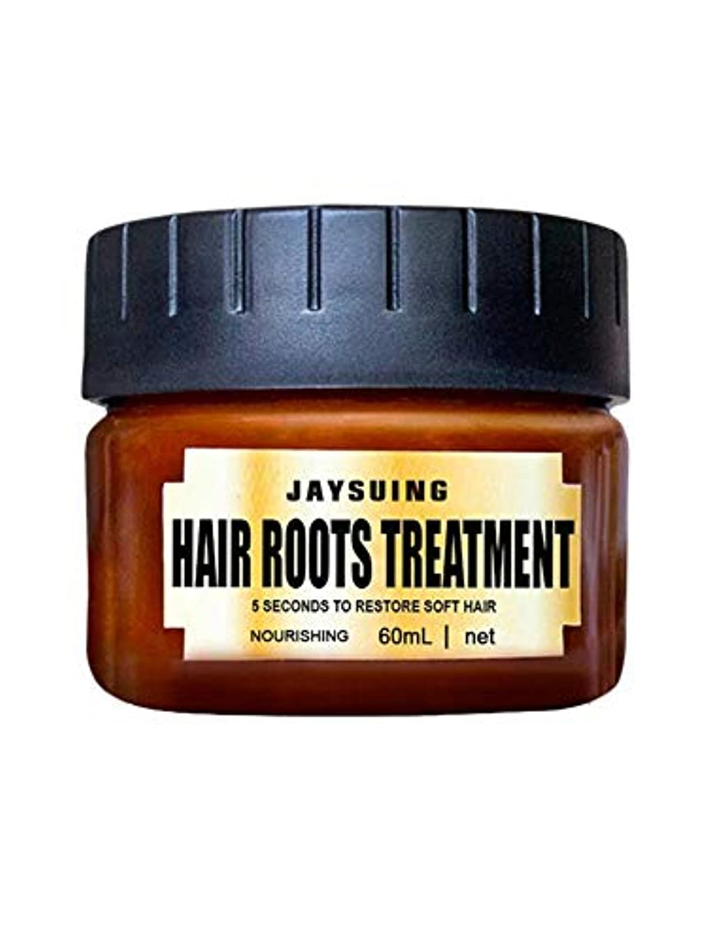 自明ディレクトリ緊張Natural Botanical Ingredients多機能ヘアルーツトリートメントヘアコンディショナー、発毛を促進、光沢を回復-60ml