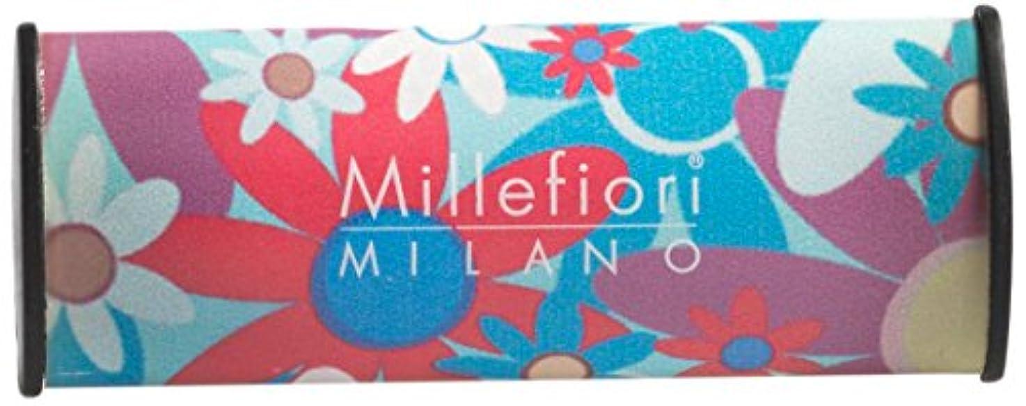 暴行土砂降り炭素Millefiori カーエアーフレッシュナー メロディーフラワー CDIF-B-006