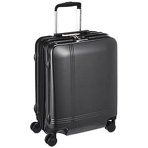 [アバロン] スーツケース クロノス 機内持込可 35L 48cm 2.8kg 05939 01 ブラックカーボン