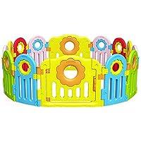 赤ちゃんフェンスゲームフェンス子供安全クロールマット幼児フェンスガーデンフェンス環境にやさしい材料 (サイズ さいず : 144 * 144cm)