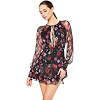 Talulah Women's Wild Bloom Long Sleeve Mini Dress