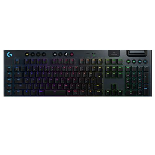 Logicool G ゲーミングキーボード ワイヤレス G913-LN ブラック メカニカルキーボード リニア 日本語配列 LIGHTSYNC RGB G913 国内正規品 2年間メーカー保証