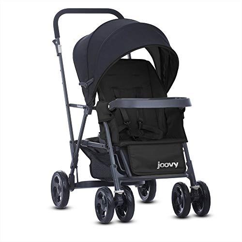 Joovy Cabooseグラファイトスタンドon tandem stroller 8147