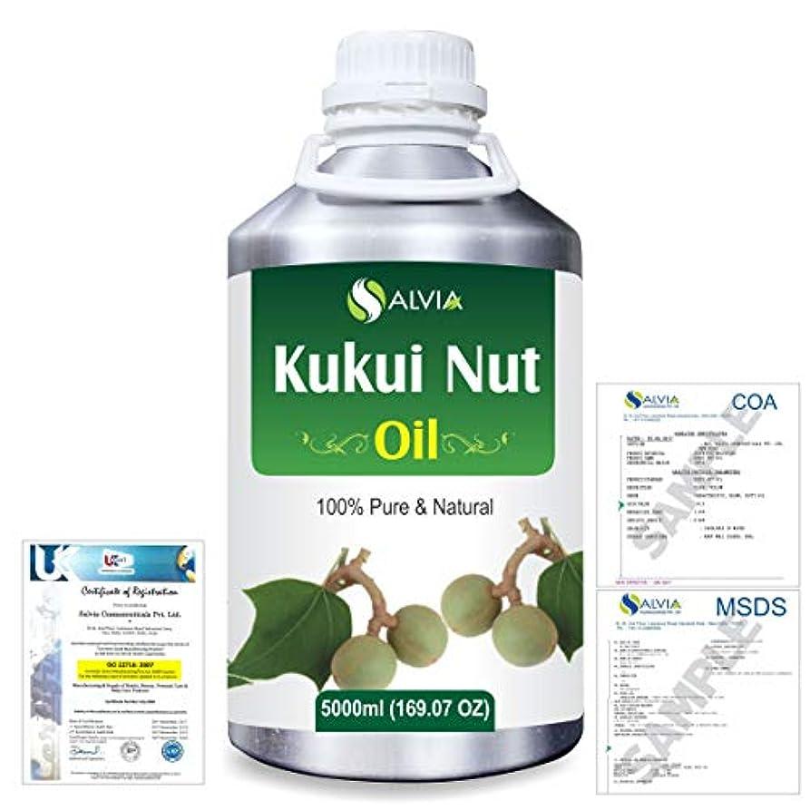 トランスペアレント気体のブーストKukui Nut (Aleurites Moluccans) Natural Pure Undiluted Uncut Carrier Oil 5000ml/169 fl.oz.