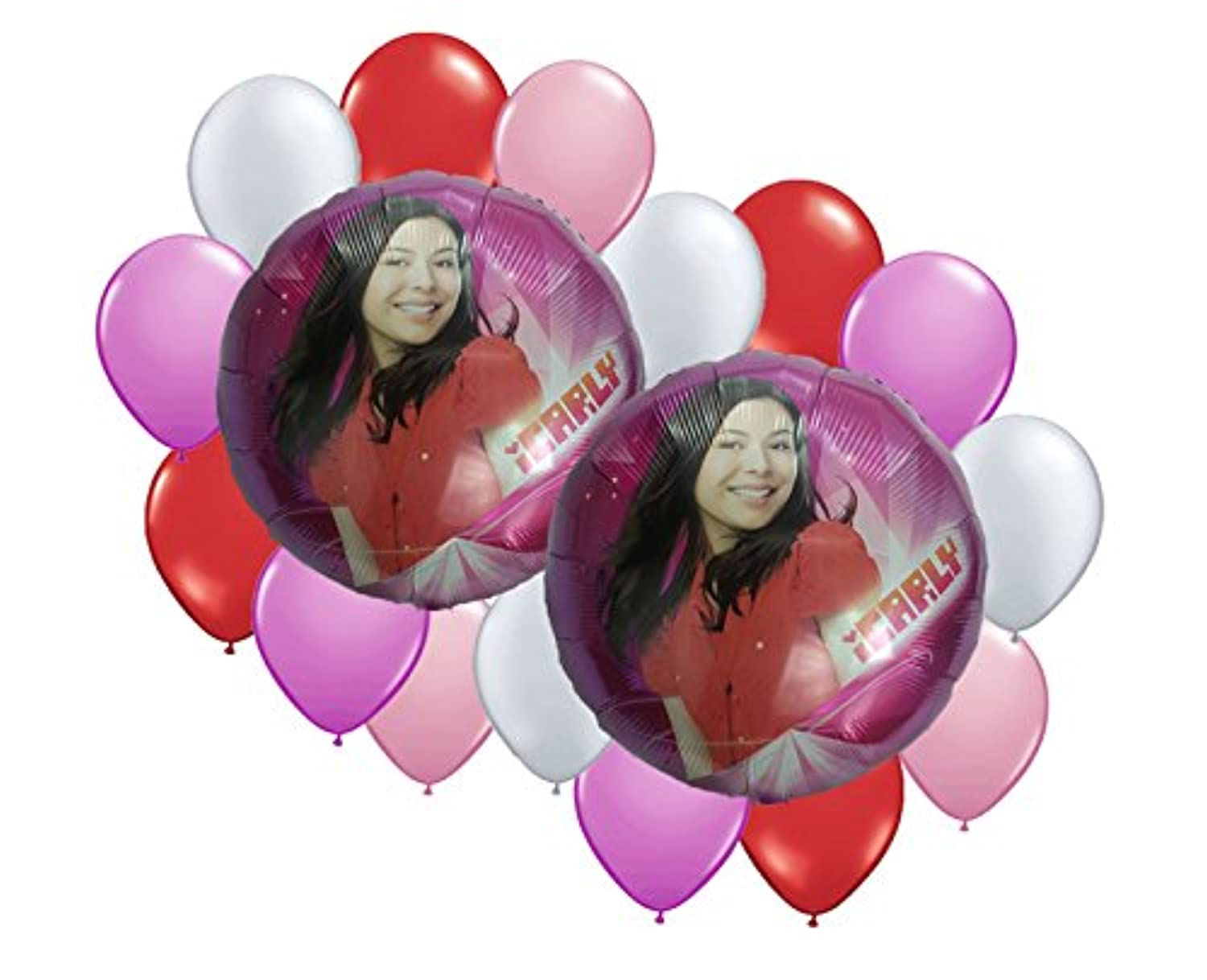 ICarly Balloon Bouquet 17 pc