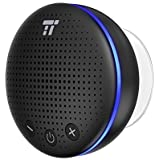 TaoTronics Bluetooth スピーカー 防水 IPX7 風呂 ブルートゥース スピーカー LEDライト付 マイク内蔵 大音量 脱衣場用 浴室用 台所用 寝室用 洗面所用 TT-SK021