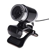 HDカメラ ウェブカム USB 2.0 12メガピクセル MIC クリップオン 360度 1pc