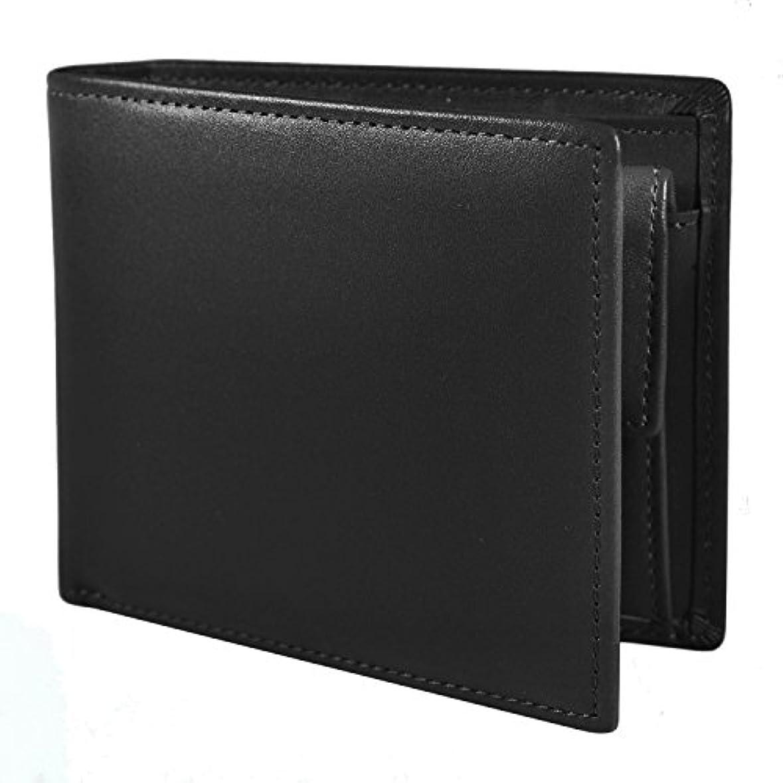 プロトタイプ退屈などこでもSKAWA RENON 二つ折り財布 財布 メンズ 本革 レザー 小銭入れ カード収納 化粧箱入り ビジネス 高品質 プレゼント
