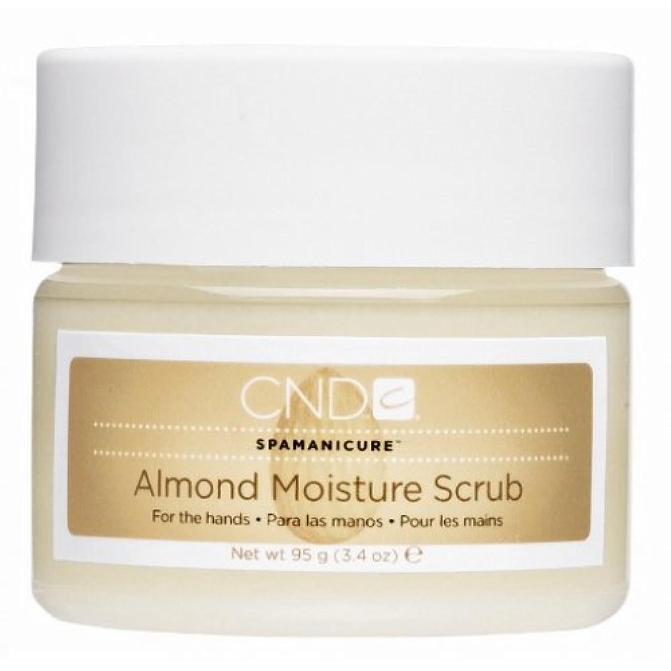 苦行苦行葉を集めるCND SpaManicure - Almond Moisture Scrub - 17.5oz