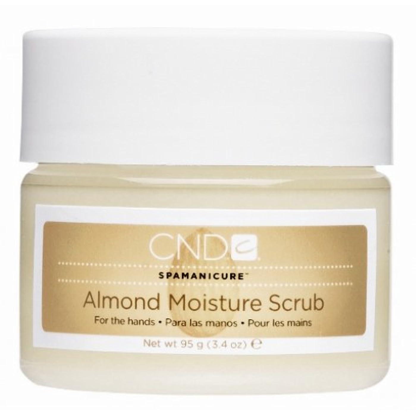 広告主受粉者メッセンジャーCND SpaManicure - Almond Moisture Scrub - 17.5oz