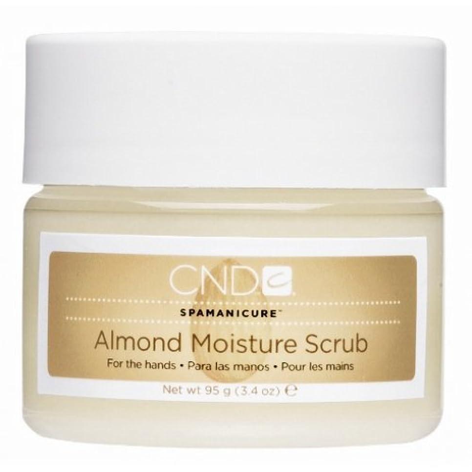勇気脈拍メッシュCND SpaManicure - Almond Moisture Scrub - 17.5oz
