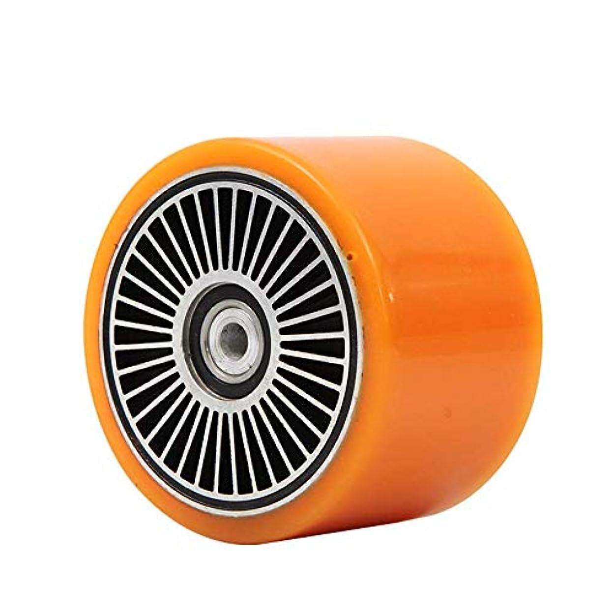 ヘロイン縮約ピカソ電動スクーターアクセサリー、90mm 300wホールブラシレスDCモーター、低ノイズ銅コア、長寿命、四輪スケートボードに最適