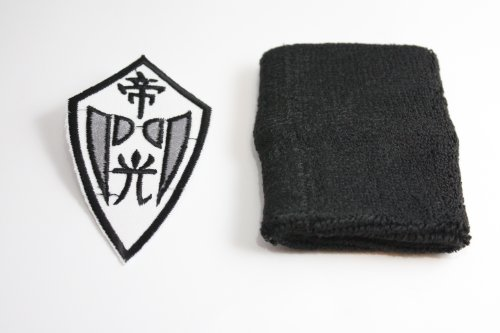 [world-surprise] basketball-style Empire light embroidered patch with black cosplay props g-4