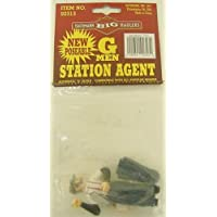 Bachmann Industries Large G Scale Station Agent Figure with Hat & Coat [並行輸入品]