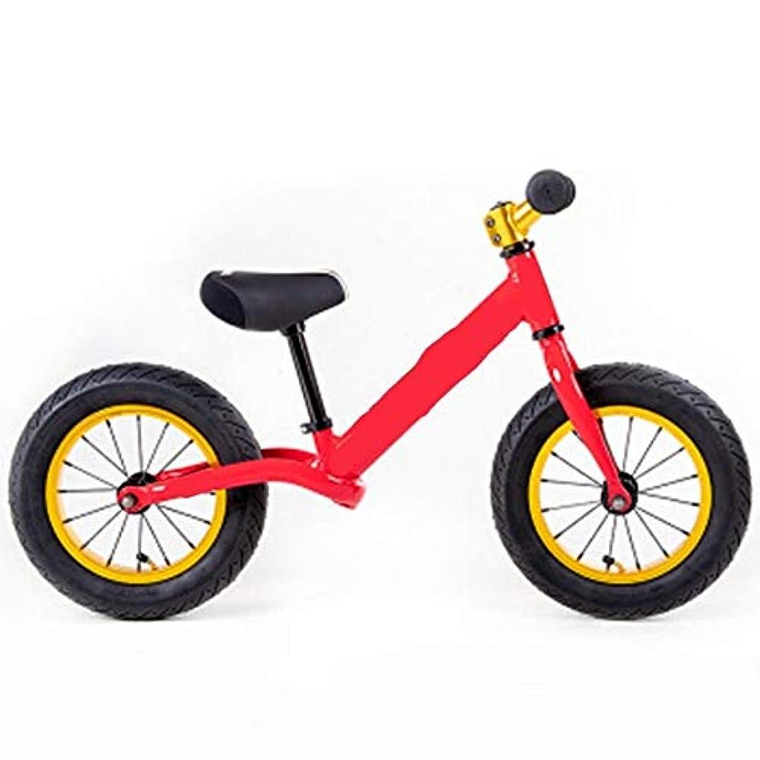 ジェム法医学ドリンクペダルなしで1-3歳の自転車の軽い滑走のアルミ合金の超軽量の子供のバランス車 (Color : B)