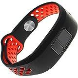 Replacement Band for Garmin Vivofit 3 Vivofit JR Junior 2 Kids Fitness Wristband Black+Red