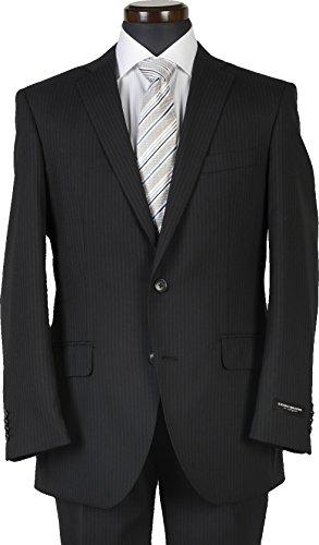 洋服倉庫 春夏スーツ YA体/A体/AB体サイズ限定 ウール100%素材 ノータックスリムビジネススーツ #1 濃紺ストライプ RS9017 AB6