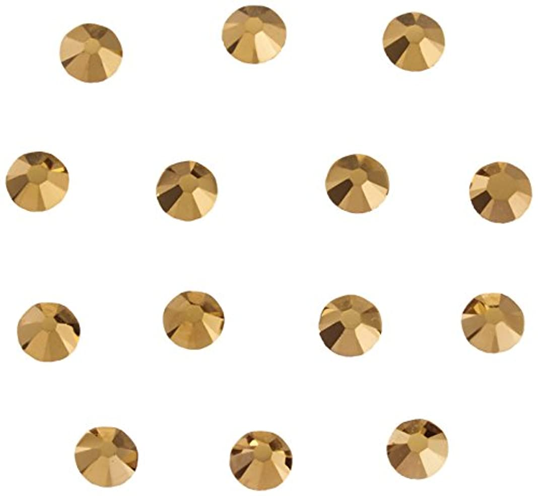 販売員実行可能スカルクネイルアートパーツ クリスタルオーラム SS5:1.8~1.9mm 36P