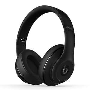 【国内正規品】Beats by Dr.Dre Studio Wireless 密閉型ワイヤレスヘッドホン ノイズキャンセリング Bluetooth対応 マットブラック MHAJ2PA/B