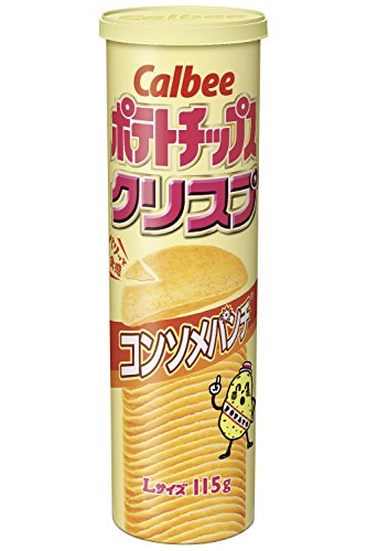 ポテトチップスクリスプ コンソメパンチ 115g 12個