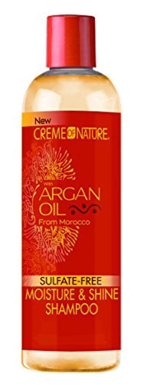解凍する、雪解け、霜解け仲間、同僚地上でCreme of Nature Argan Oil Shampoo 355 ml (並行輸入品)