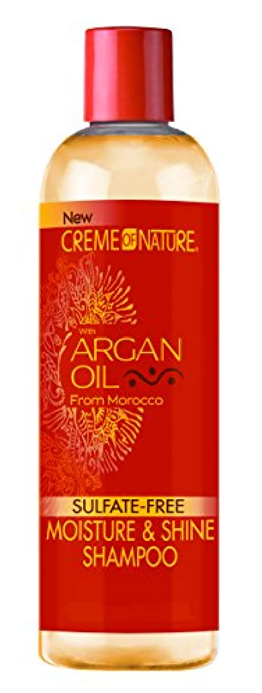 シェトランド諸島いたずらギャザーCreme of Nature Argan Oil Shampoo 355 ml (並行輸入品)