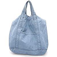 Bageek Denim Shoulder Bag Tote Handbag Simple Crossbody Bag for Women